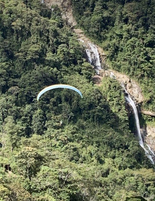 Paragliding Tour